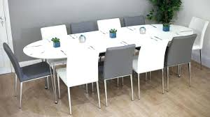 10 seater dining table seat regarding round extendable at modern