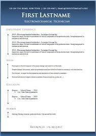 Resume Templates Microsoft Word 2013 Mesmerizing Free Resume Download Templates Microsoft Word Custom 48 Free Resume