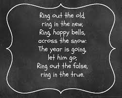 Free New Year and New Year's Eve chalkboard printables of famous quotes,  poems, and