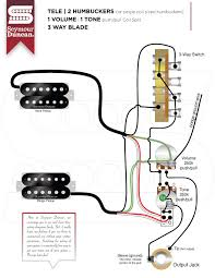 2 pickups seymour duncan part 2 Pickup Wiring Diagram One Volume One Tone tele, 2 hum, 1 volume, 1 tone push pull coil split, 3 way blade DiMarzio Wiring Diagrams