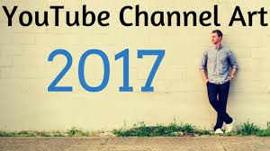 How to Make YouTube Channel Art - 2017 Tutorial - YouTube