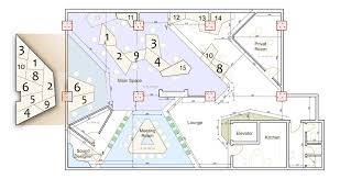 design office space layout. Space Plan Quirky Spaceship As Game Studio Office By Ezzo Design Layout H