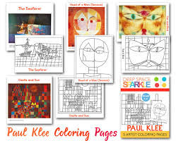 Paul Klee Coloring Pages Deep Space Sparkle