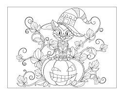 Most of our seasons coloring pages are a outdoor or farm theme! Halloween Coloring Pages For Older Kids Gift Of Curiosity