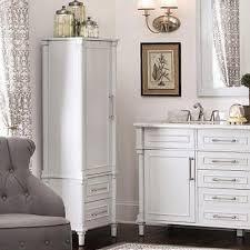 white bathroom cabinets. bathroom linen cabinets white