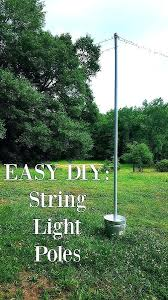 pole for hanging lights patio string light pole commercial outdoor light poles inspirational how to hang pole for hanging lights perfect patio