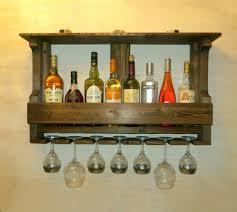 ... Large Size of Storage & Organizer, Reclaimed wood wine shelf build your  own wine rack ...