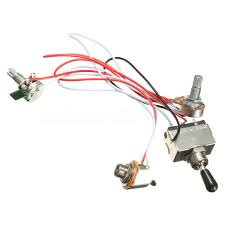 electric guitar 3 way toggle switch wiring harness kit 1 volume 1 Electric Guitar Wiring Volume And Tone electric guitar 3 way toggle switch wiring harness Guitar Wiring For Dummies