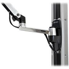 <b>Ergotron LX Wall Mount</b> Monitor Arm (Polished Aluminum)