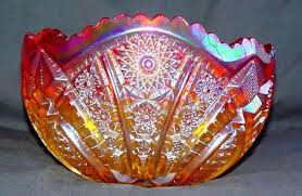 Carnival Glass Patterns Amazing Fenton Glass Amberina Glassware Replacements