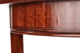antique inlaid satinwood round occasional table 10