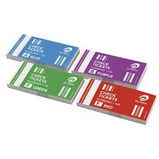 olympic check ticket books pack officeworks olympic check ticket books 4 pack