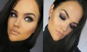 full face mac cosmetics makeup tutorial black smokey eye macmakeuptutorial