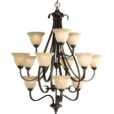 progress lighting fiorentino collection forged bronze. progress lighting torino collection 12-light forged bronze chandelier with shade fiorentino o