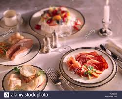 Setting A Dinner Table Posh Dinner Table Setting Stock Photos Posh Dinner Table Setting