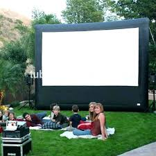 outdoor projector screen wireless tv mov
