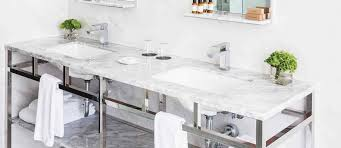 many home owners take inspiration for their own home bathroom decor from photos they ve seen of hotel bathroom trends