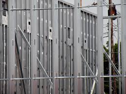 Interior metal framing Curved Steel Light Gauge Metal Stud Framing Credit Buildipedia Buildipediacom Light Gauge Metal Stud Framing Buildipedia