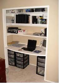 closet home office. Office In Closet Home Organization Ideas About On .