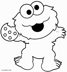 Cookie Monster Vector At Getdrawingscom Free For Personal Use