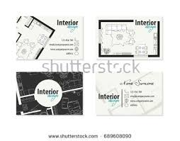 business cards interior design. Interior Decorator Business Cards Abstract Logo Letter A With Card Download Free Vector Art Design