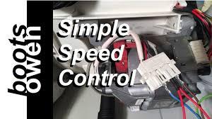 washing machine universal motor wiring explained