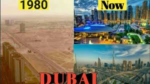Dubai Before And After Dubai City Before And After Development Youtube