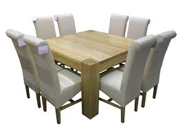 Square Dining Room Table With 8 Chairs Amazing Square Dining Room Table For 8 3 8 Chair Square Dining