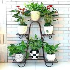 plant stand ideas plant stand ideas outdoor plant stand pot stands throughout outdoor plant shelf renovation