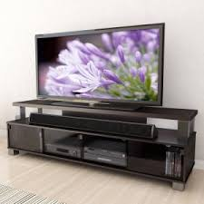 75 tv stand. CorLiving B-003-RBT Bromley 75 In. 2 Tier TV Bench - Ravenwood Tv Stand