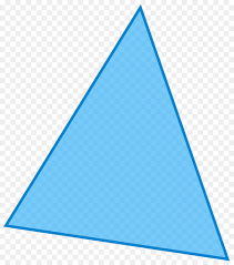 Light Blue Triangle Equilateral Triangle Png Download 1320 1495 Free