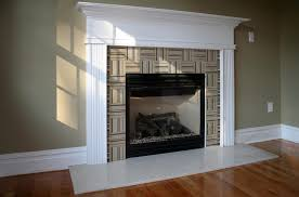 image of tile around fireplace ideas