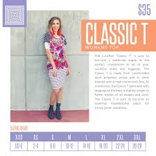 Classic Tee Lularoe Size Chart Scoop Neck T Click The Image To Join My Group And Browse