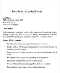 Senior Project Accountant