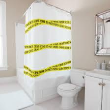 novelty shower curtains. Crime Scene Do Not Cross Novelty Shower Curtain Curtains T