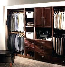 allen and roth closet closet kit closet organizer mirrors java wood closet kit closet allen roth