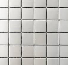 white tile floor. Fine White Metal Tile To White Floor M