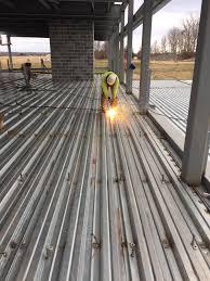 Shear Stud Installation Metro Steel Metro Dc Steel