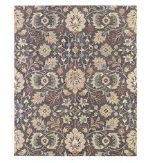 meadow wildflower wool rug 10 x