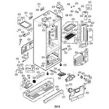 lg refrigerator parts diagram. case parts lg refrigerator diagram 6