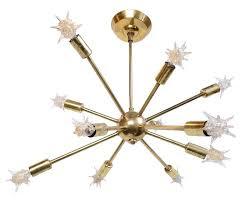 1960s light fixtures brass s sputnik chandelier with original starlight bulbs for throughout star light fixture