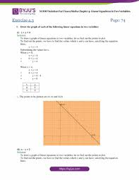 access answers of maths ncert class 9 chapter 4 linear equations in two variables exercise 4 3