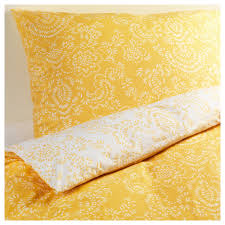 Åkertistel duvet cover and pillowcase s full queen double regarding yellow contemporary 14