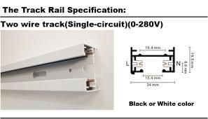 rail track lighting. 3 Phase Circuit 4 Wire Track Rail,track Light Rail Connectors,universal Rails,aluminum Track,lighting Fixtures, Lighting