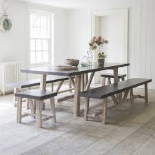 modern dining table with bench. Modern Dining Table With Bench In Chilson And Set Plan 11 W