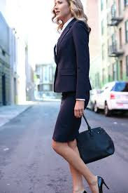 working girl wardrobe essentials memorandum nyc fashion pencil skirt and blazer for work