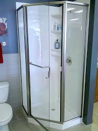 corner shower stall kits. Corner Shower Kits Stall Standard Showers L Home Depot