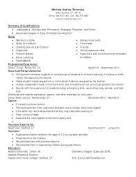 Child Caregiver Resume Child Care Resume Sample Child Care Resume Amazing Childcare Resume