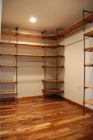 Stupendous Corner Closet Shelves Ikea Pipes And Wood Closet Storage
