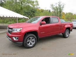 2015 Chevrolet Colorado Z71 Crew Cab 4WD in Red Rock Metallic ...